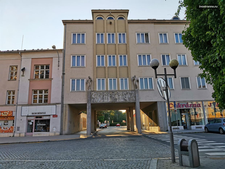 Дом советской постройки в Европе