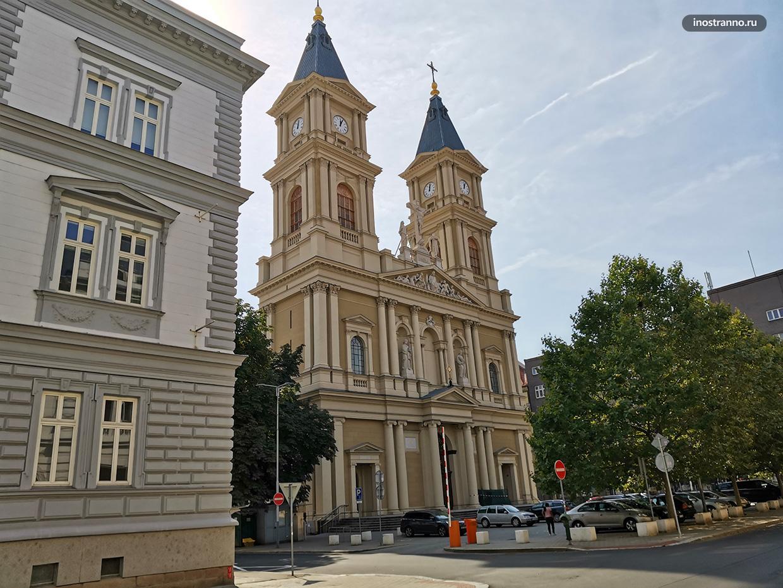 Католический собор в Остраве
