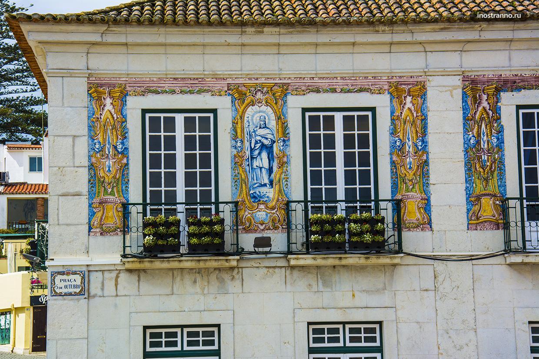 Типичная португальская плитка азулежу