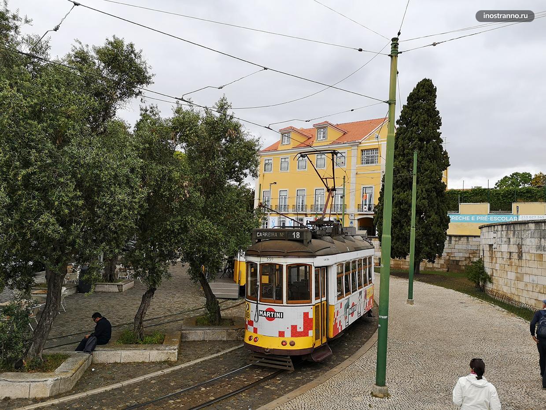 Как добраться в район Белен из центра Лиссабона - трамвай
