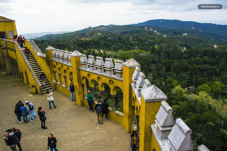 Инстаграмное место во дворцах Синтры