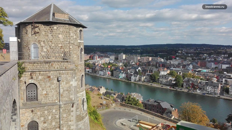 Замок Намюр в Бельгии