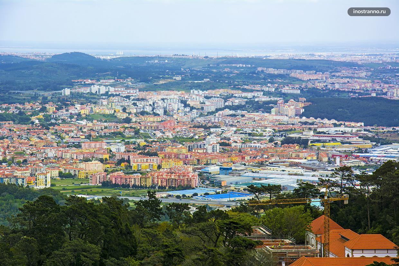 Панорама португальского города Синтра