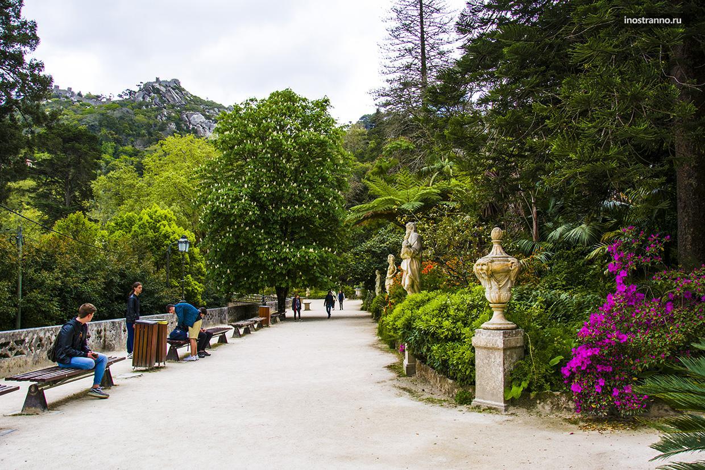Парк в Синтре весной
