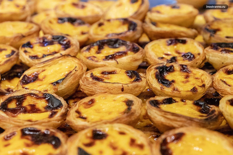 Португальский десерт паштеиш
