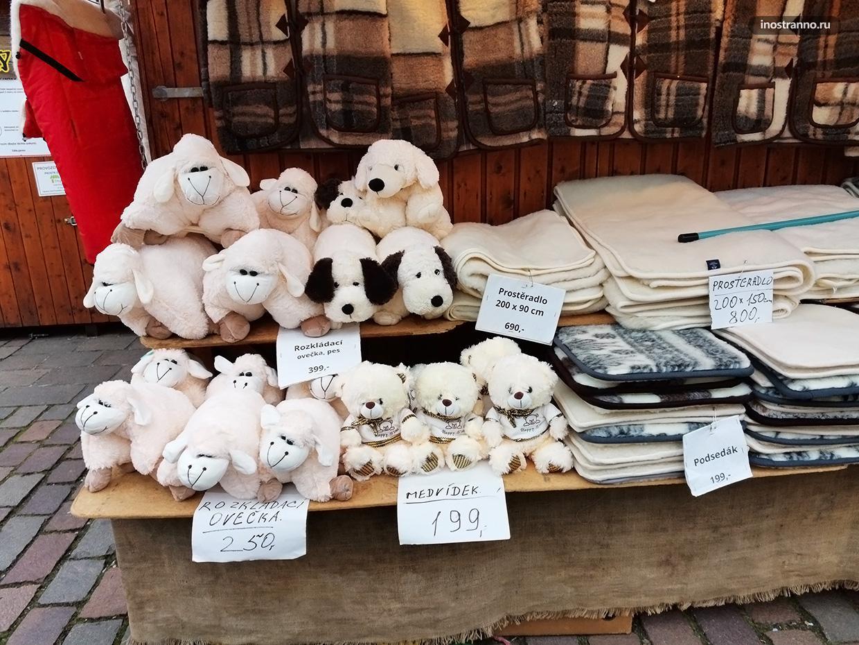 Рождественская ярмарка в Чехии игрушки