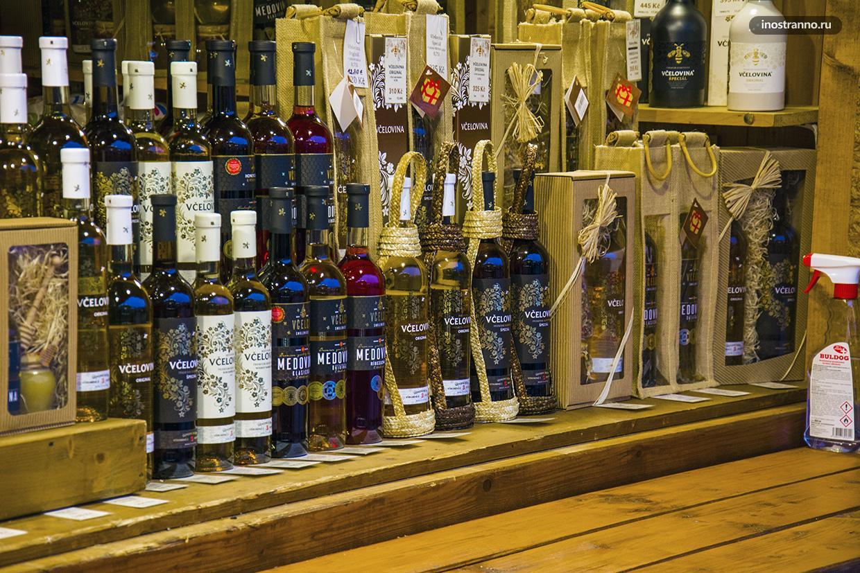 Рождественский рынок в Чехии напитки