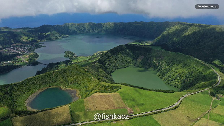 Инстаграмное фото кальдеры вулкана Сети-Сидадиш