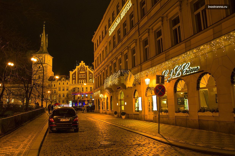 Инстаграм локации для фото ночью в Праге