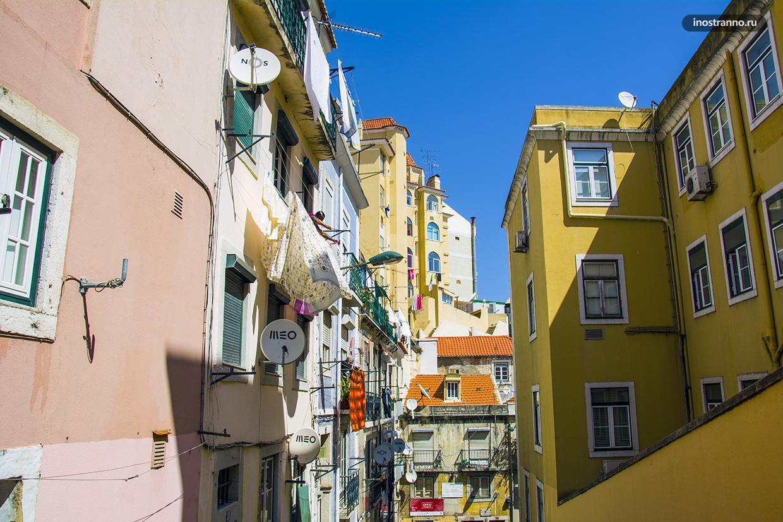 Фото улицы в Лиссабоне