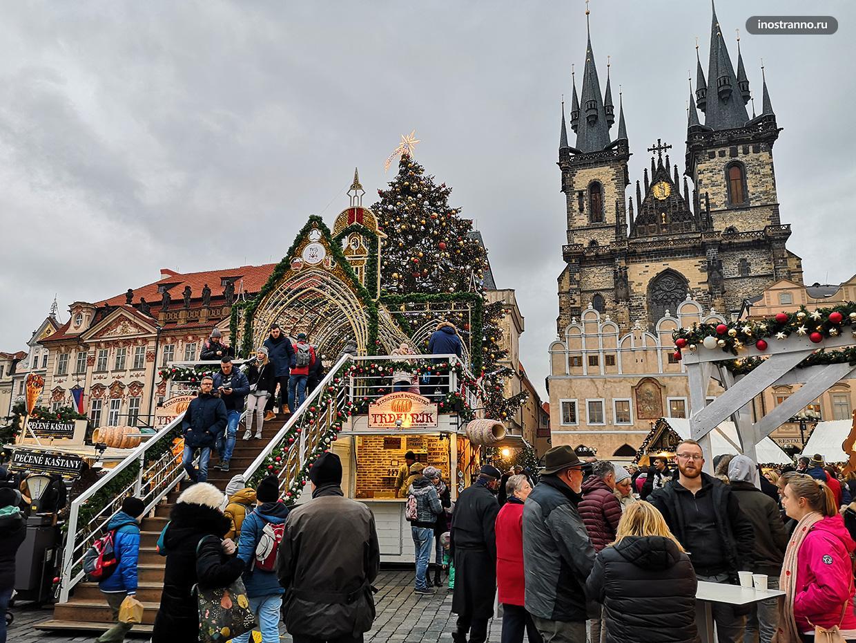Самый красивый рождественский рынок в Европе