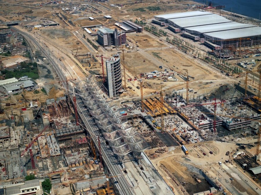 Парк Наций Лиссабон строительство