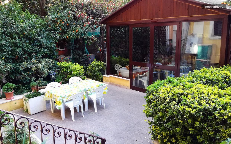 Красивые апартаменты в Риме в центре