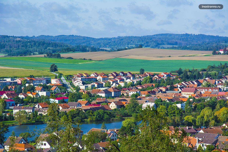 Чешский пейзаж осенью