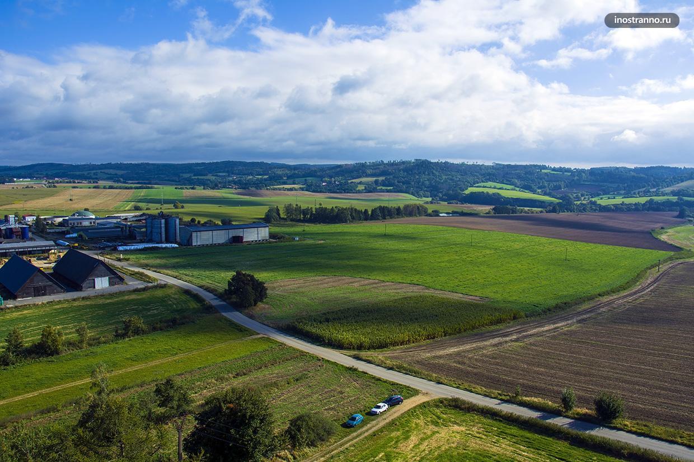 Зеленые поля Моравии