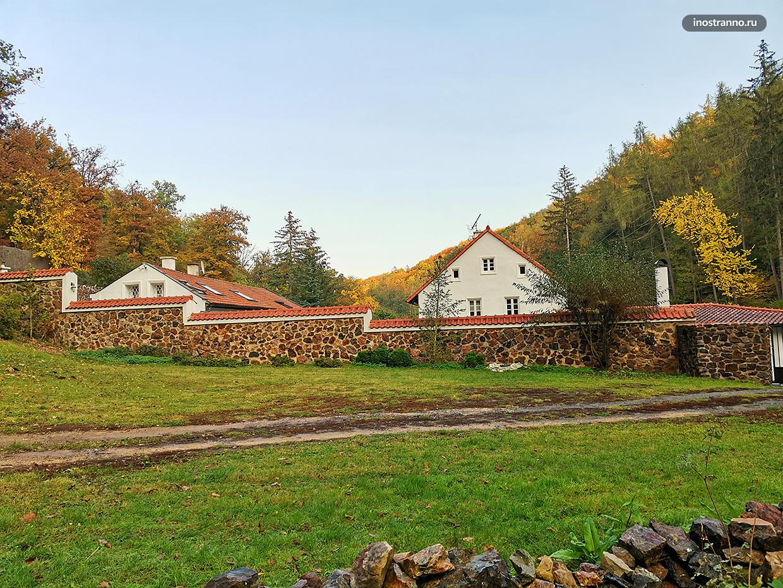 Самый большой парк Праги Дивока Шарка