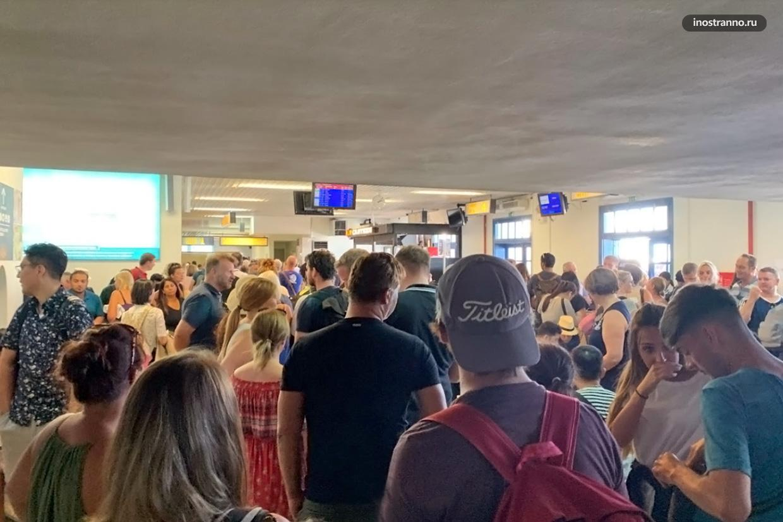 Отзыв об аэропорте Санторини