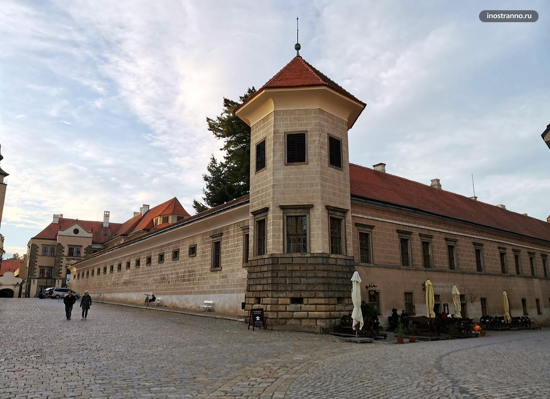 Замок в моравском городе Тельч