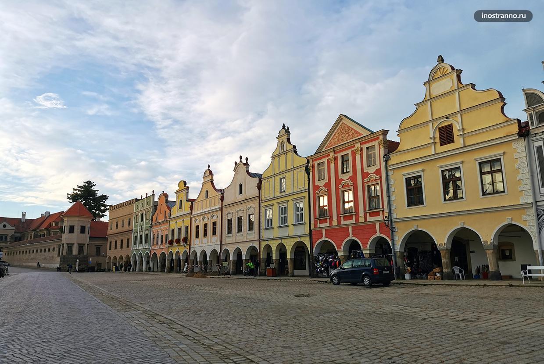 Объект ЮНЕСКО в Чехии - исторический центр города Тельч