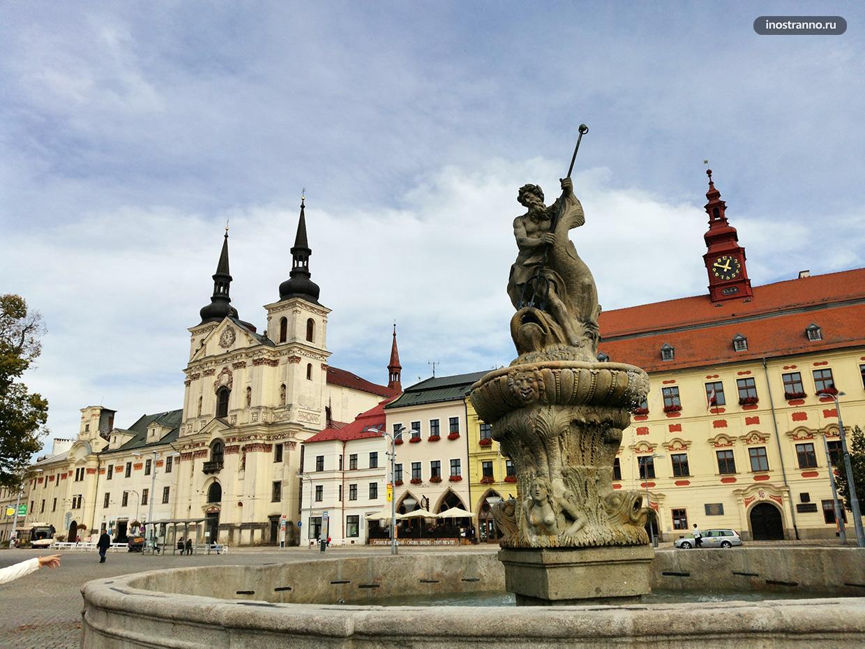 Йиглава исторический центр города