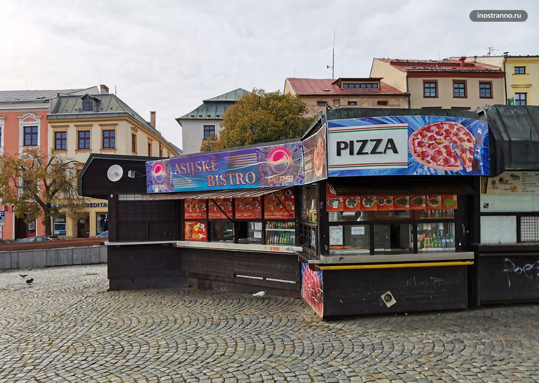 Киоск в Чехии и Европе