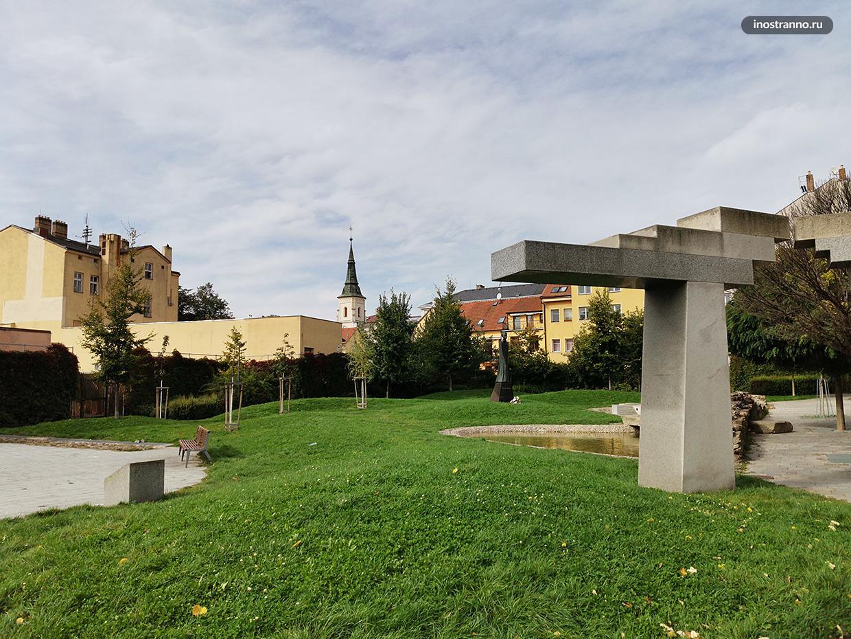 Парк в чешском городе