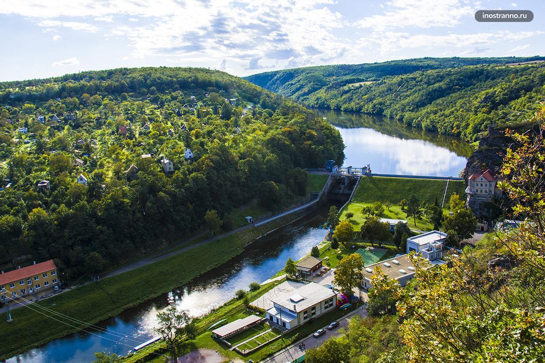 Река в Чехии