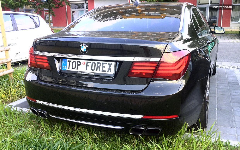 Автомобиль торговца на Форексе
