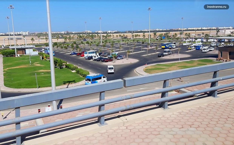 Хургада парковка и транспорт из аэропорта