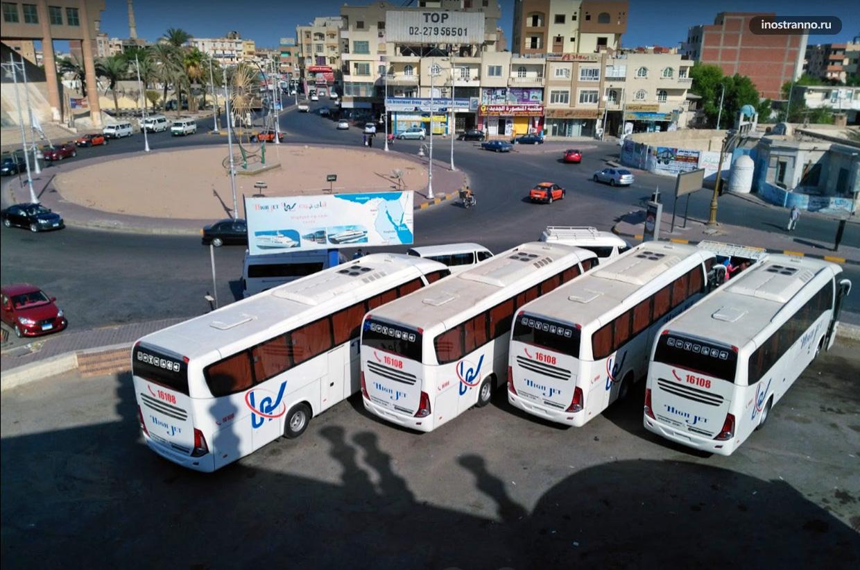 Хургада главный автовокзал