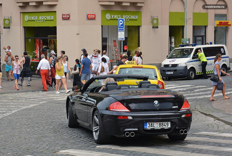 Регистрационные номера автомобилей в Чехии