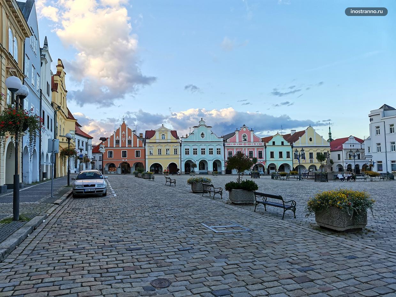 Яркие чешские домики