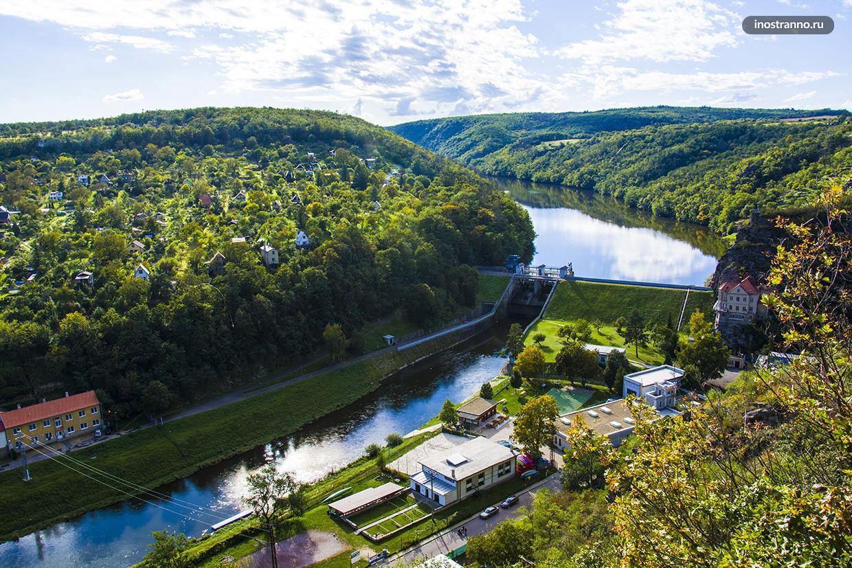 Чешская река Подыйи