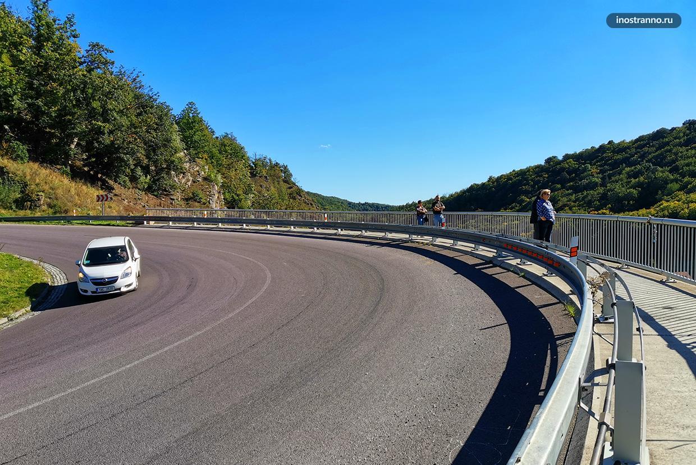 Автодорога в Чехии