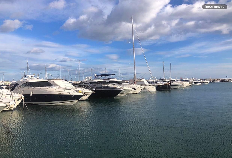 Дорогие яхты в Испании