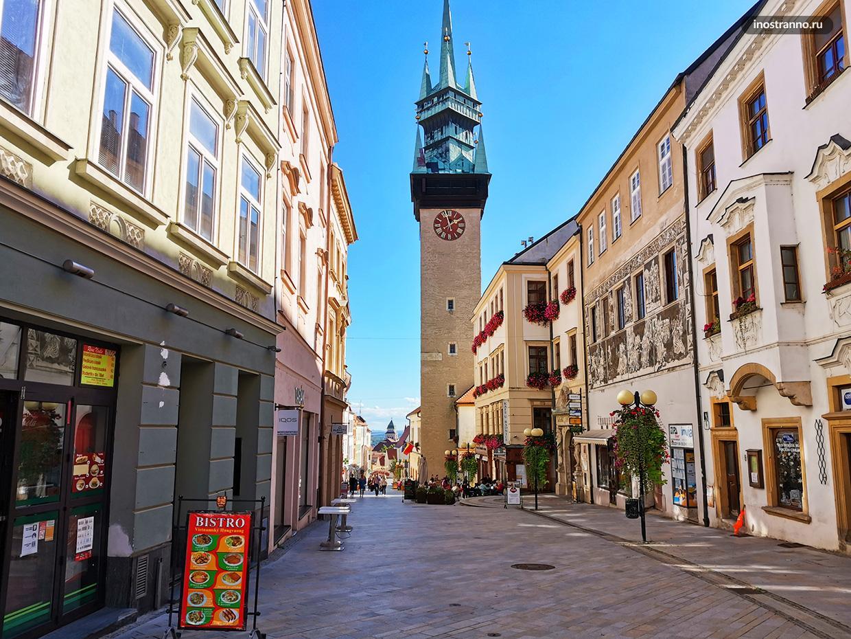 Главная туристическая достопримечательность Зноймо - ратушная башня