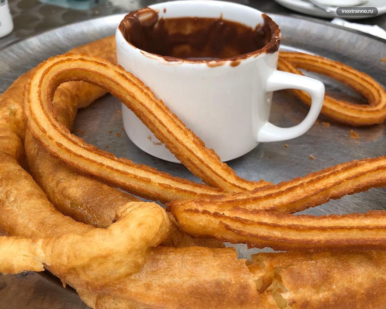 Самый популярный испанский десерт чуррос