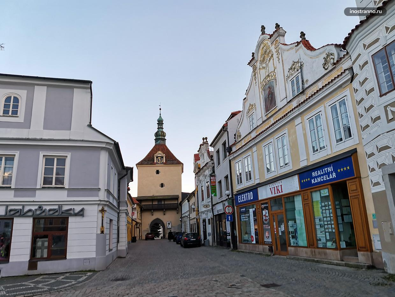 Маленький город в Чехии