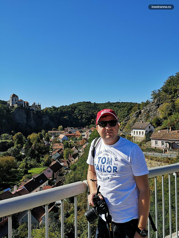 Турист в Европе