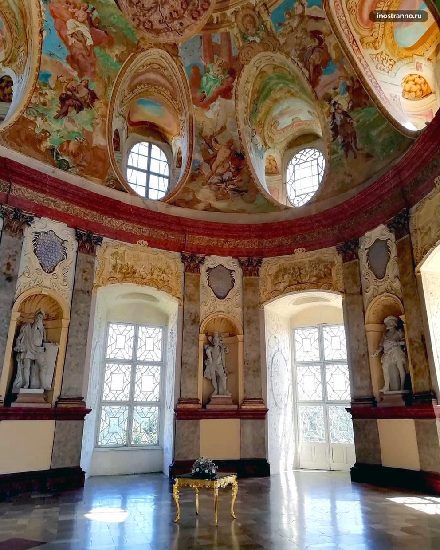 Интерьеры замка Вранов-над-Дийи