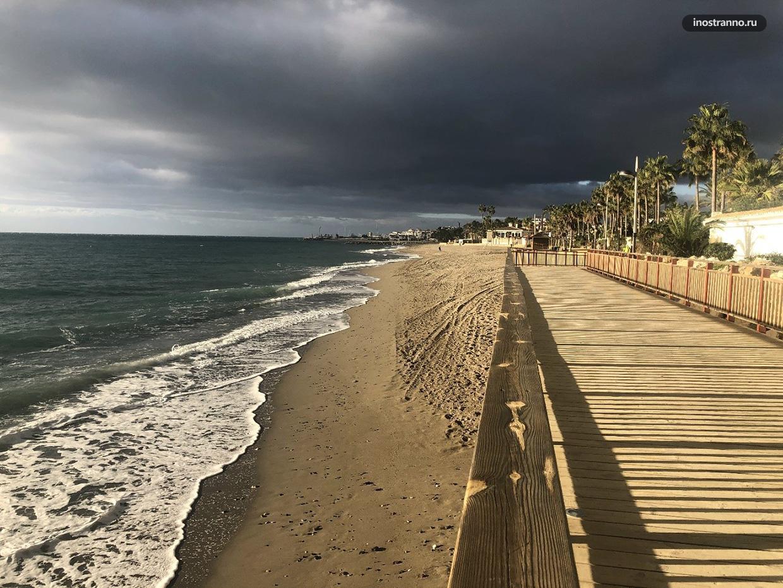 Погода в Испании зимой