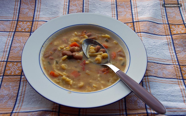 Суп в Черногории