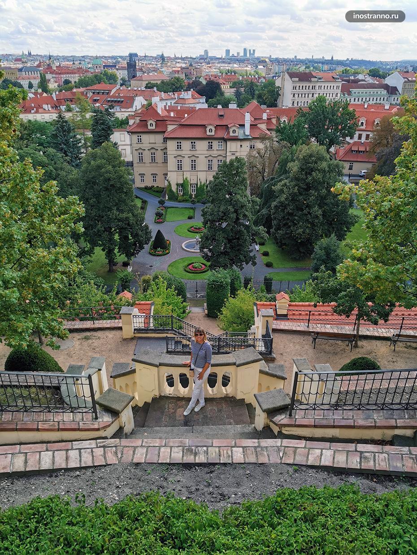 Городская панорама Праги
