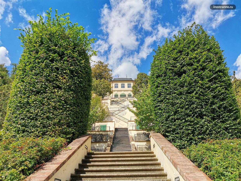 Террасный сад в Праге