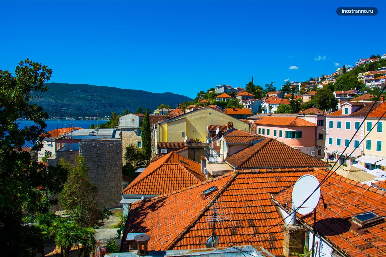 Панорама города Герцег-Нови
