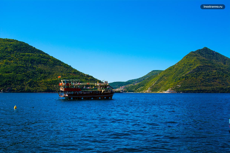 Морские прогулки в Черногории
