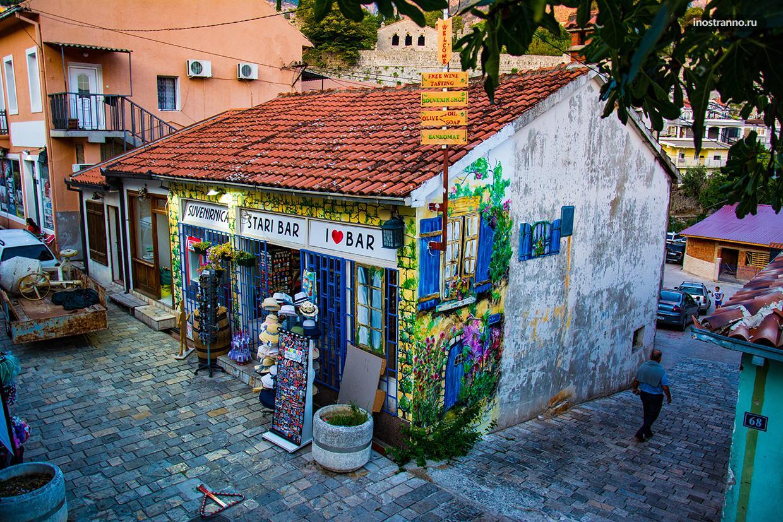 Сувенирный магазин в Баре, Черногория