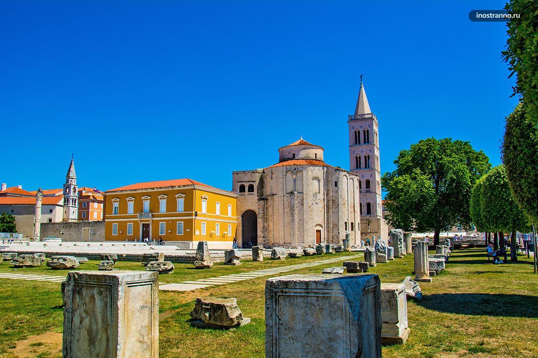 Церковь Святого Доната в хорватском Задаре