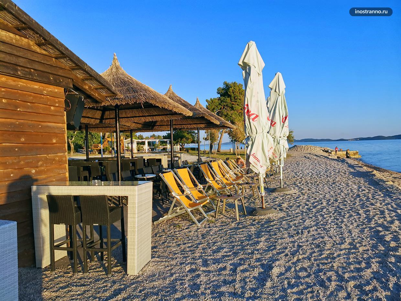 Пляж Коловар рядом с Задаром