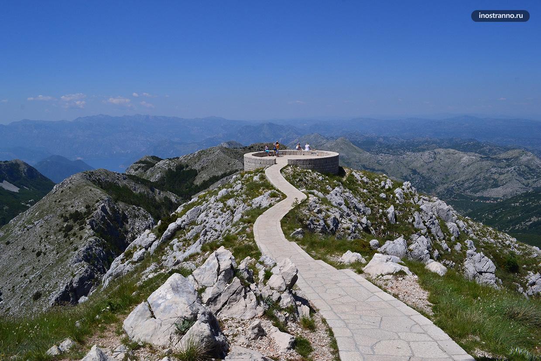 Панорама национального парка Ловчен